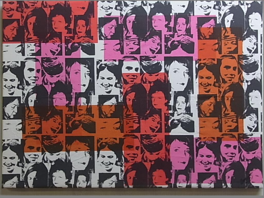 Faces 50x70 cm